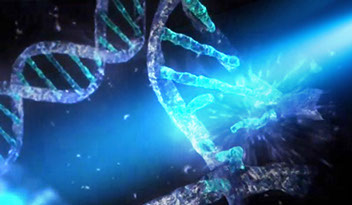 dna with uv light-crop-u43629